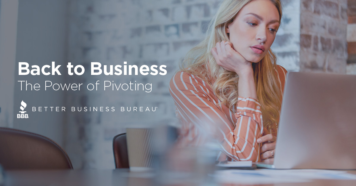 Back to Business: The Power of Pivoting
